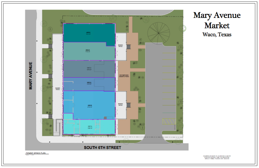 Artistic Rendering of the Aerial View of Mary Avenue Market  Submitted by Stewman
