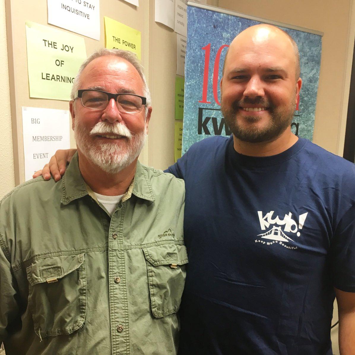Jimmy Dorrell with host Austin Meek