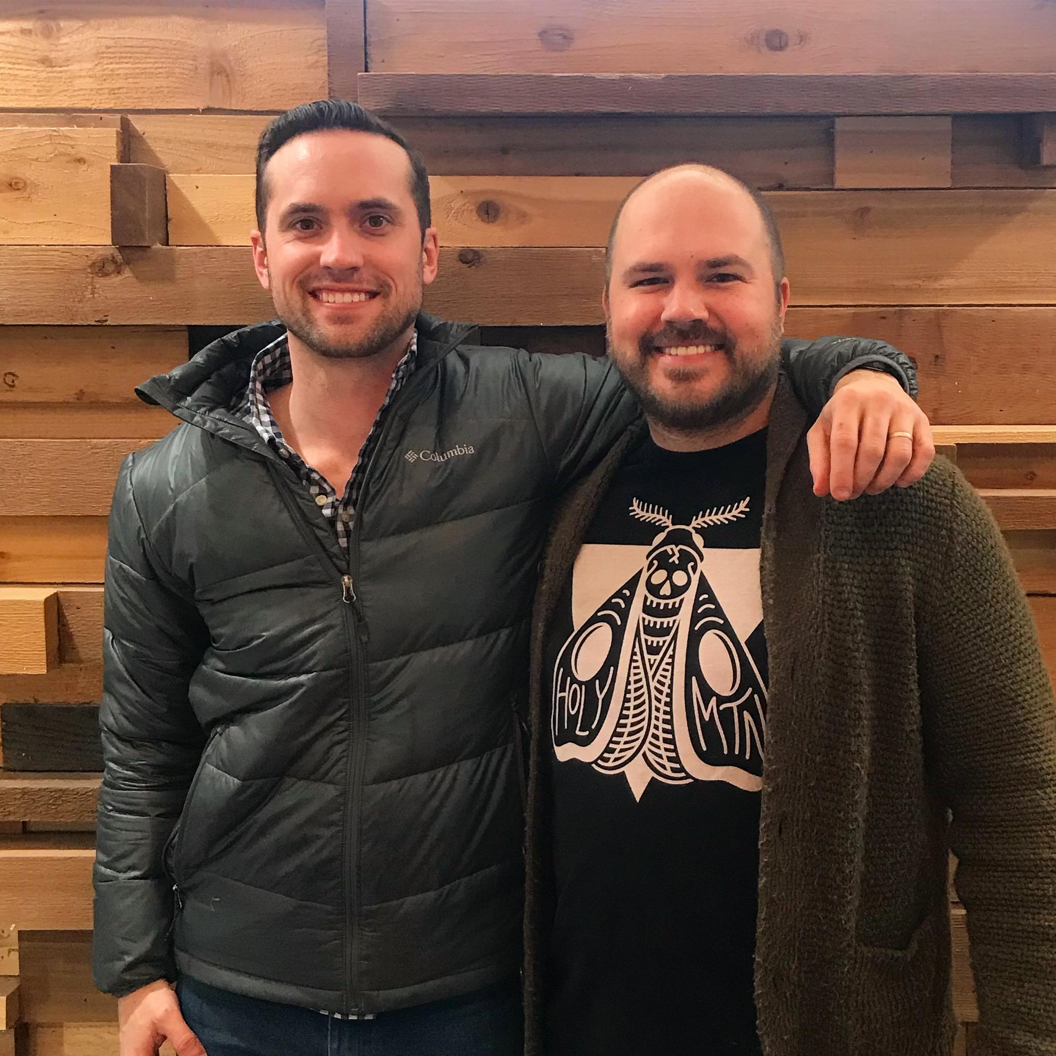 Dillon Meek with show host Austin Meek