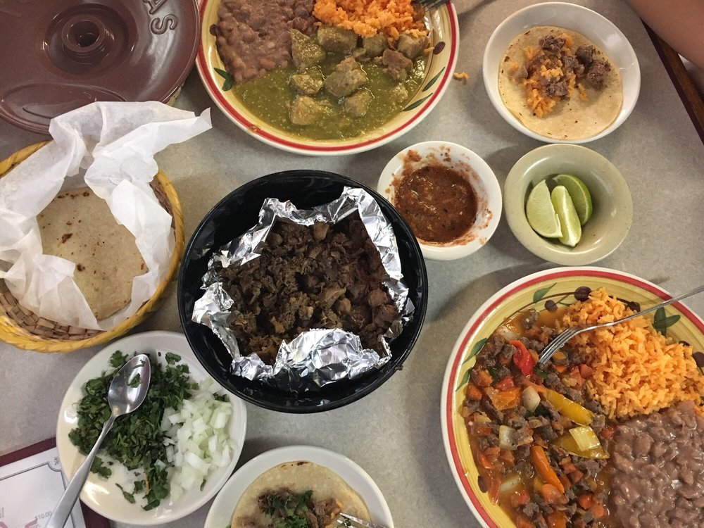 A Michoacan-style spread from Rufi's Cocina at 1801 N. 25th Street.