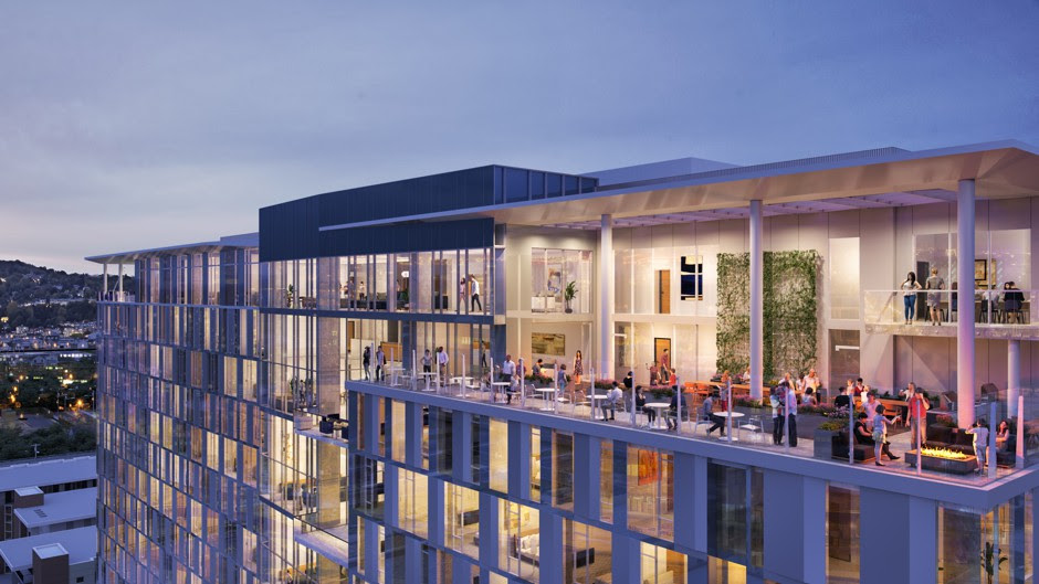 Rendering of the planned Starcity co-living concept to serve Silicon Valley workers unable to find affordable housing.