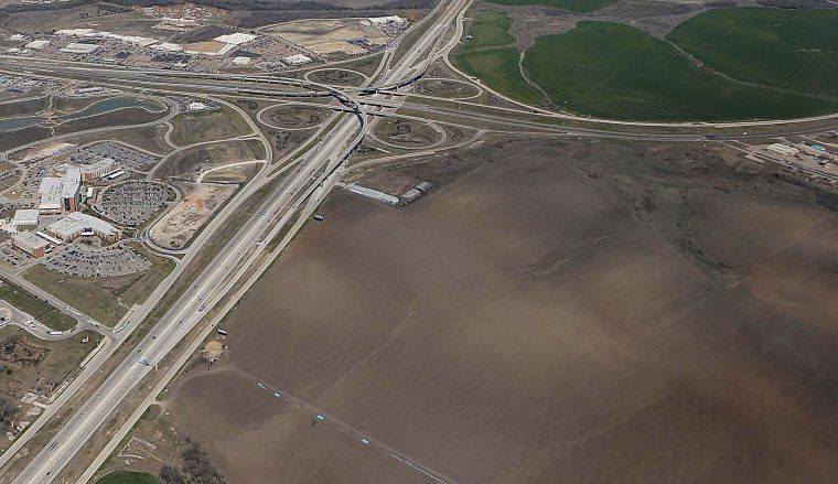 in 2013, the Waco Industrial Foundation purchased 635 acres on the southeast quadrant of Interstate 35 and South Loop 340. Six years later, the intersection is bursting with plans at every corner.