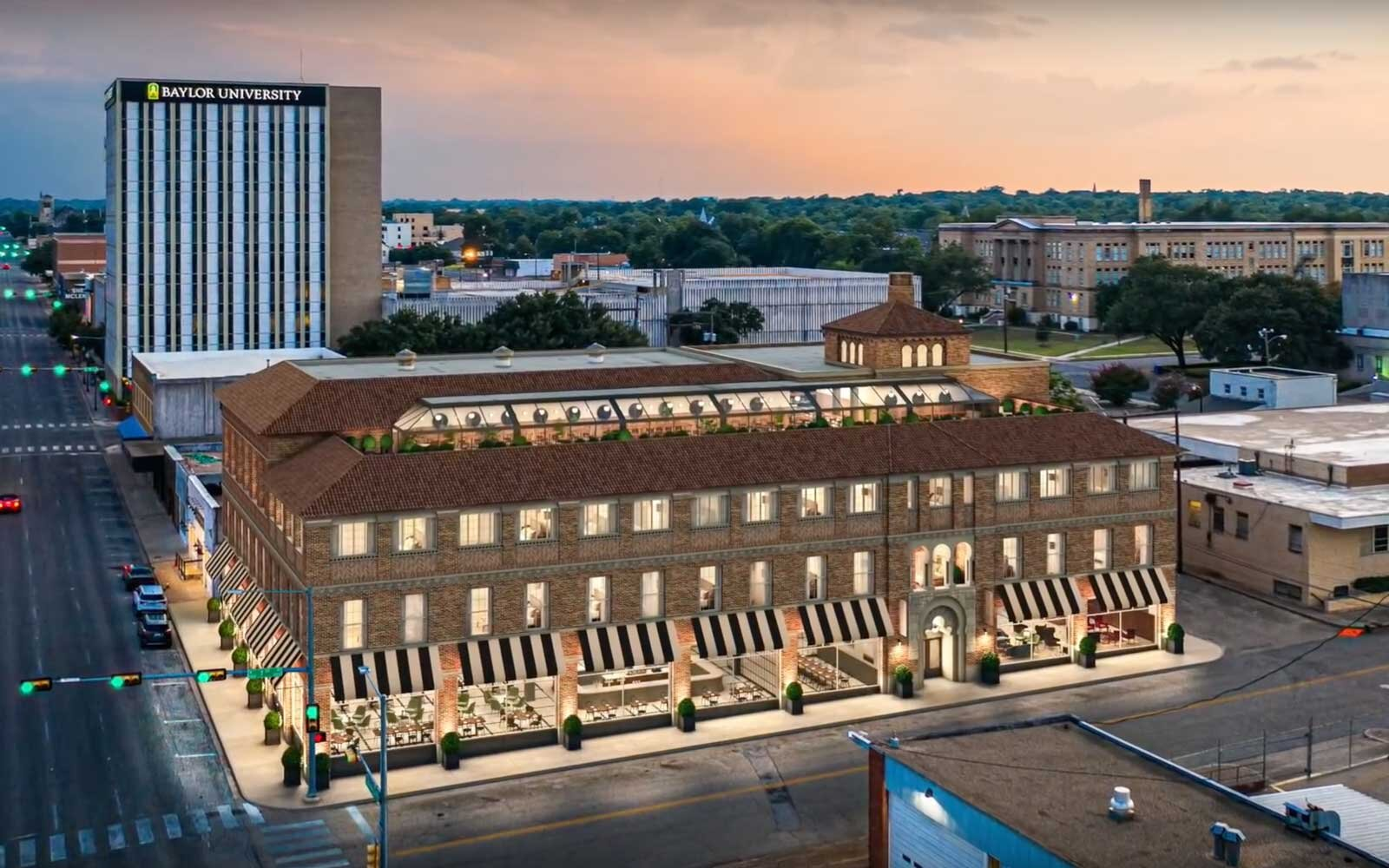 The former Grand Karem Shrine building, at 701 Washington Avenue, will be refurbished into a Magnolia-branded hotel.