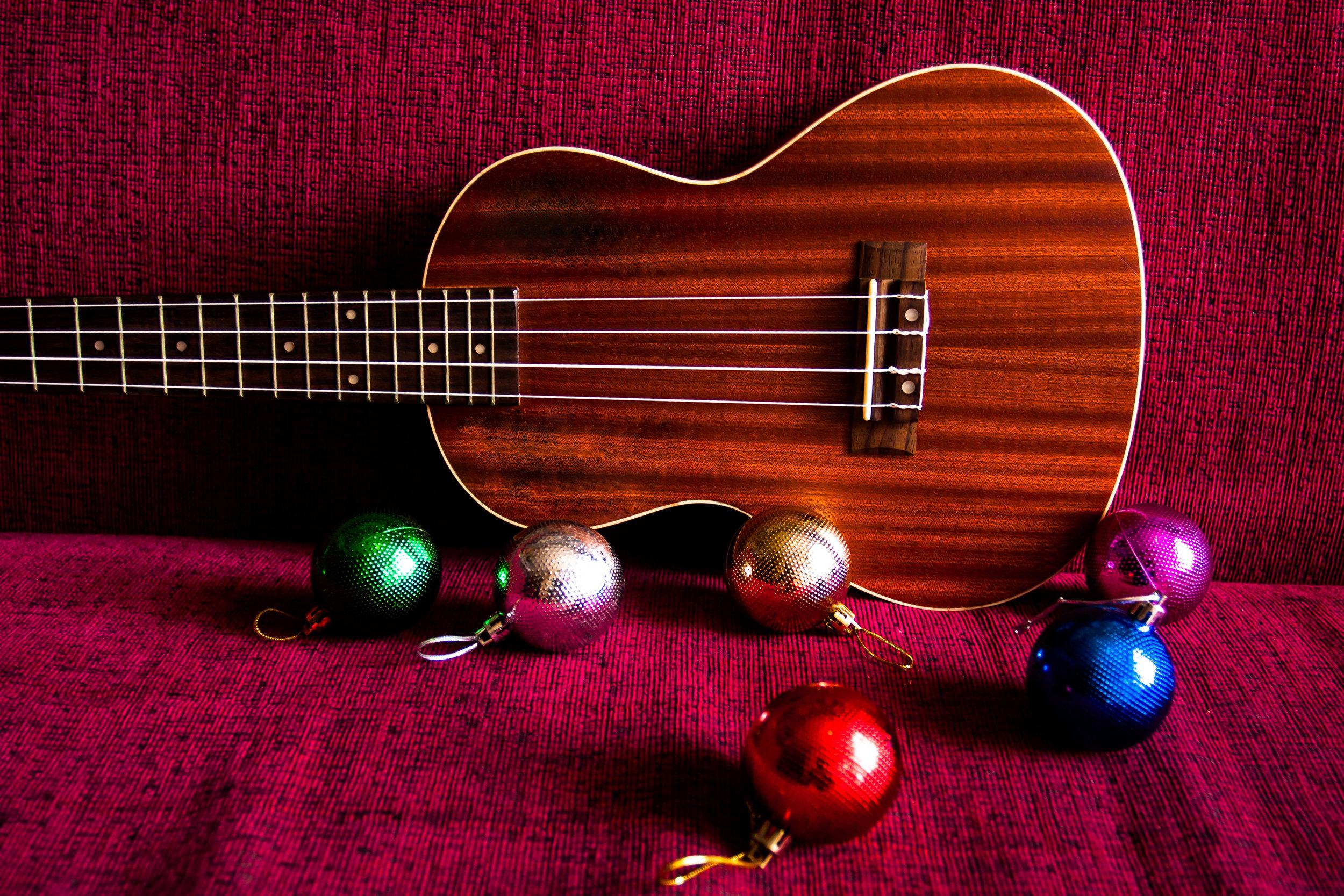 holiday ukulele