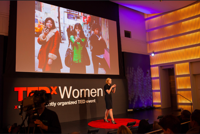 Emily May at TEDxWomen. Image: PaleyCenter Flickr