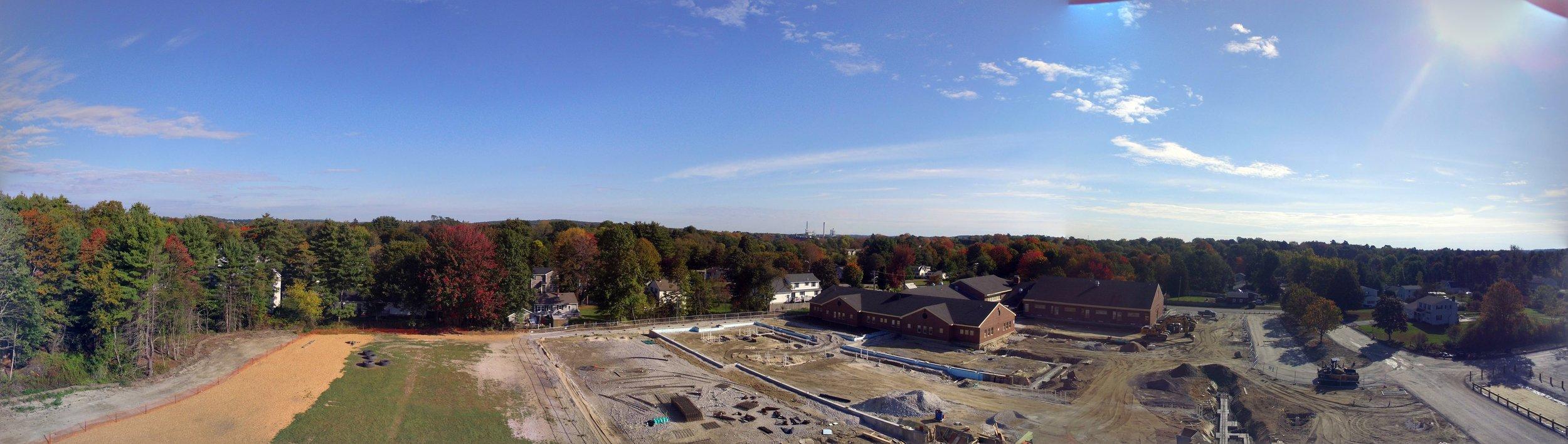 Aerial Panoramic Photo October 7, 2017