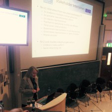 Prof. Julia Davidson presents at the The EU Child Safety Online Project: Symposium