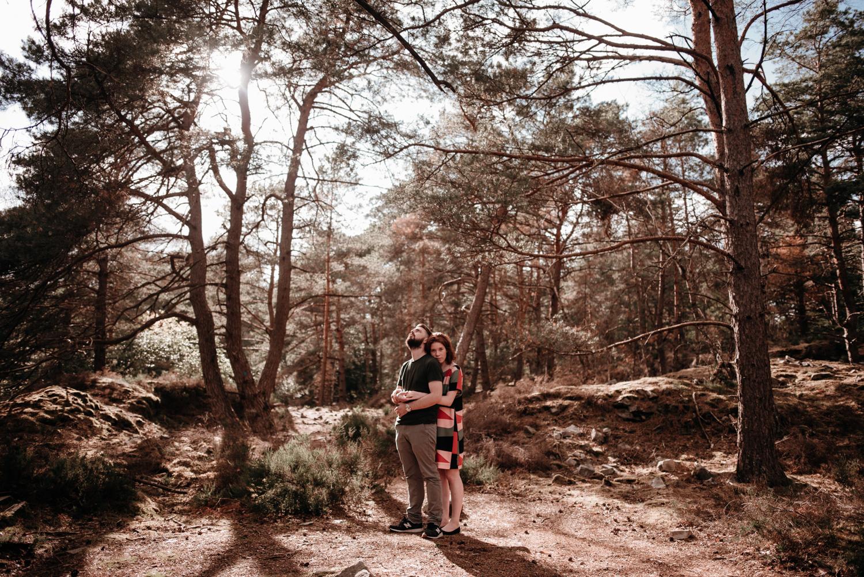 P + F |  séance couple engagement nature foret fontainebleau rochers mariage reportage alternatif moody intime vintage naturel boho boheme |  PHOTOGRAPHE mariage PARIS france destination  | FREYIA photography_.jpg
