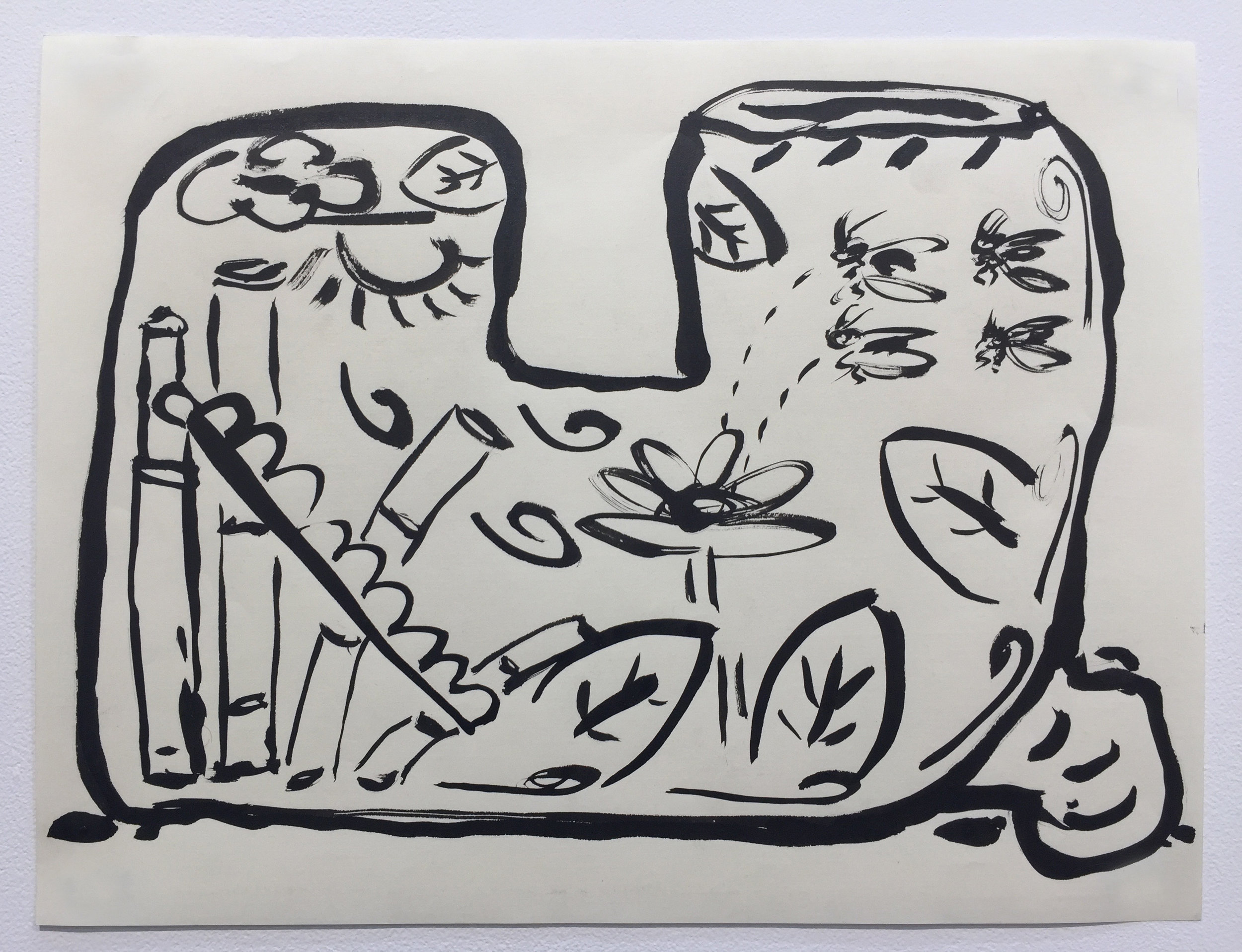 Ink on paper   2016