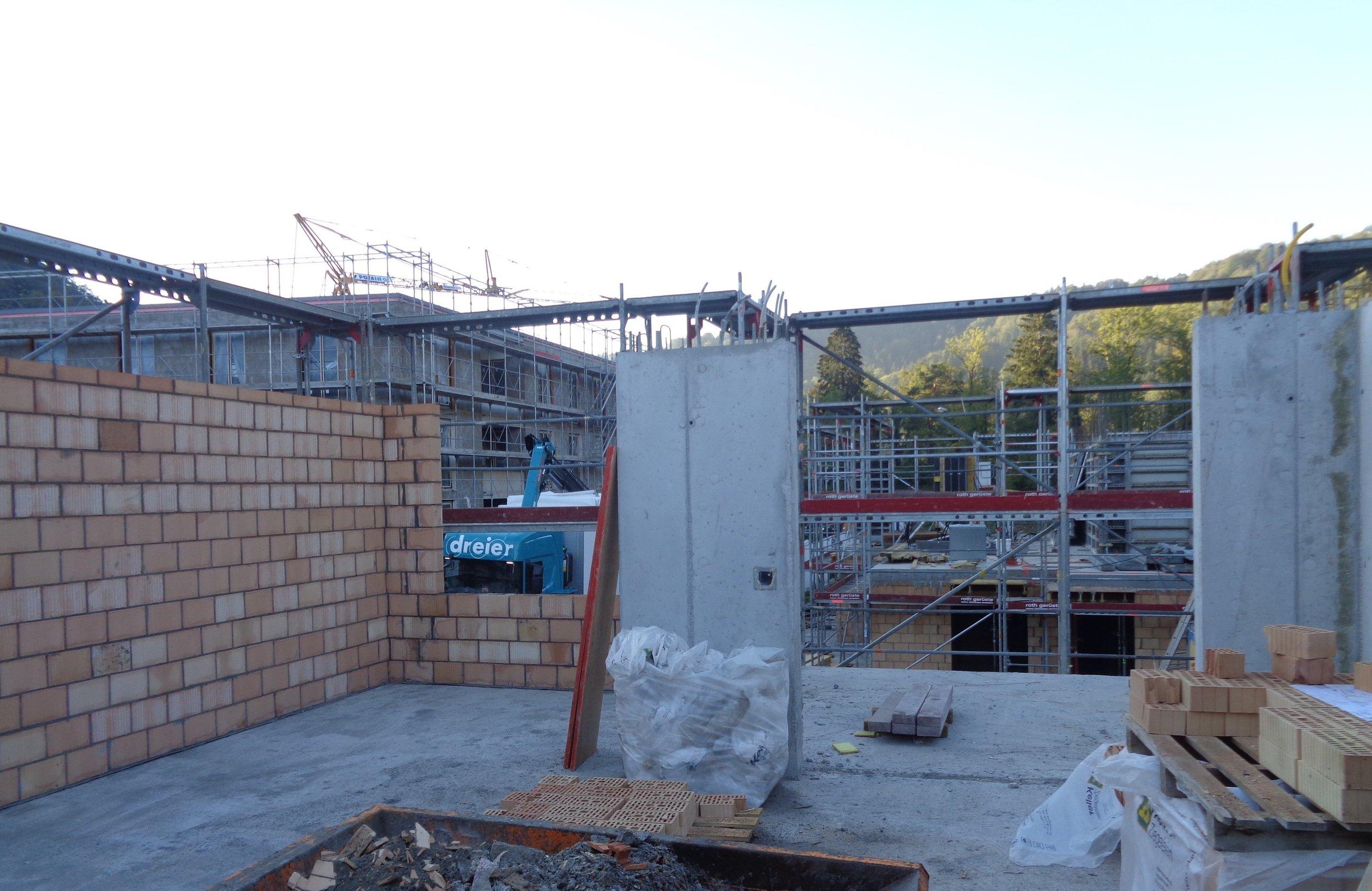 Baumeisterarbeiten Überbauung NIDO Sennhof Winterthur Verkauf Boll Immobilien Neubauprojekt