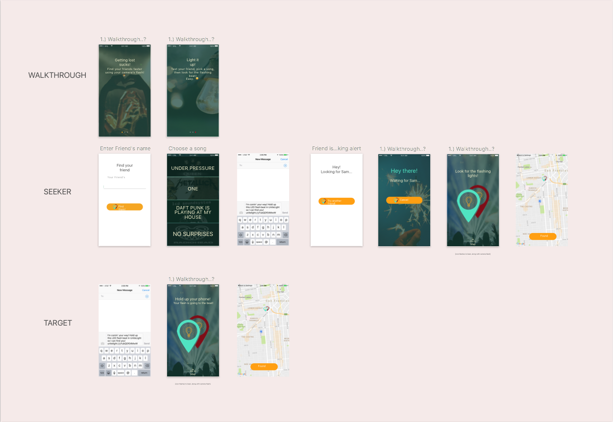 Design - We listened to feedback about the prototype from the judges and other participants, changing long, descriptive copy to short, easily understood copy. We also adjusted the on-boarding process to reduce friction.