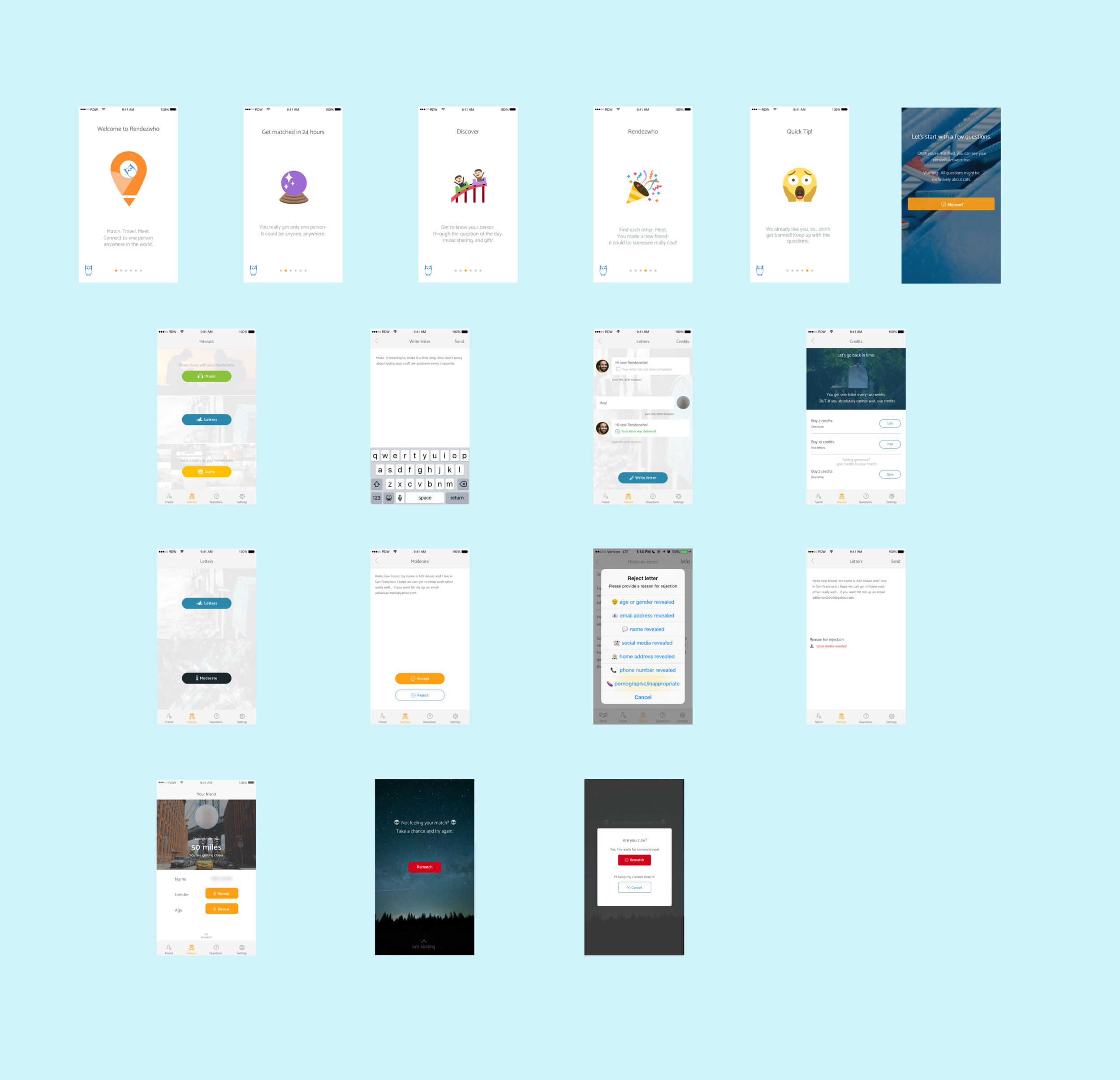 Design - We asked our users through email interviews, as well as conducted usability testing, along with our existing metrics in mixpanel and fabric to decide on how the new features would live within the app.