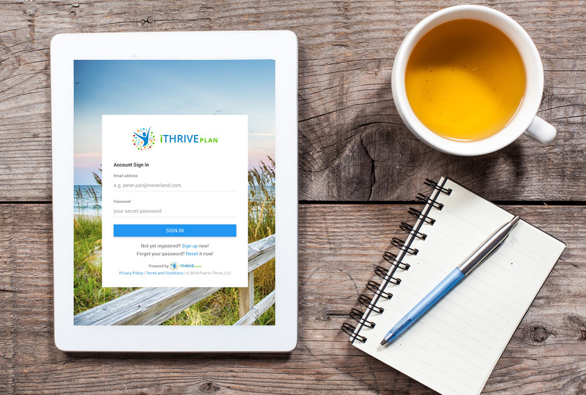 iTHRIVE Plan is available on tablets