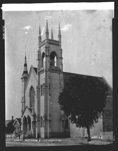 Fort Street Methodist Episcopal Church, circa 1880