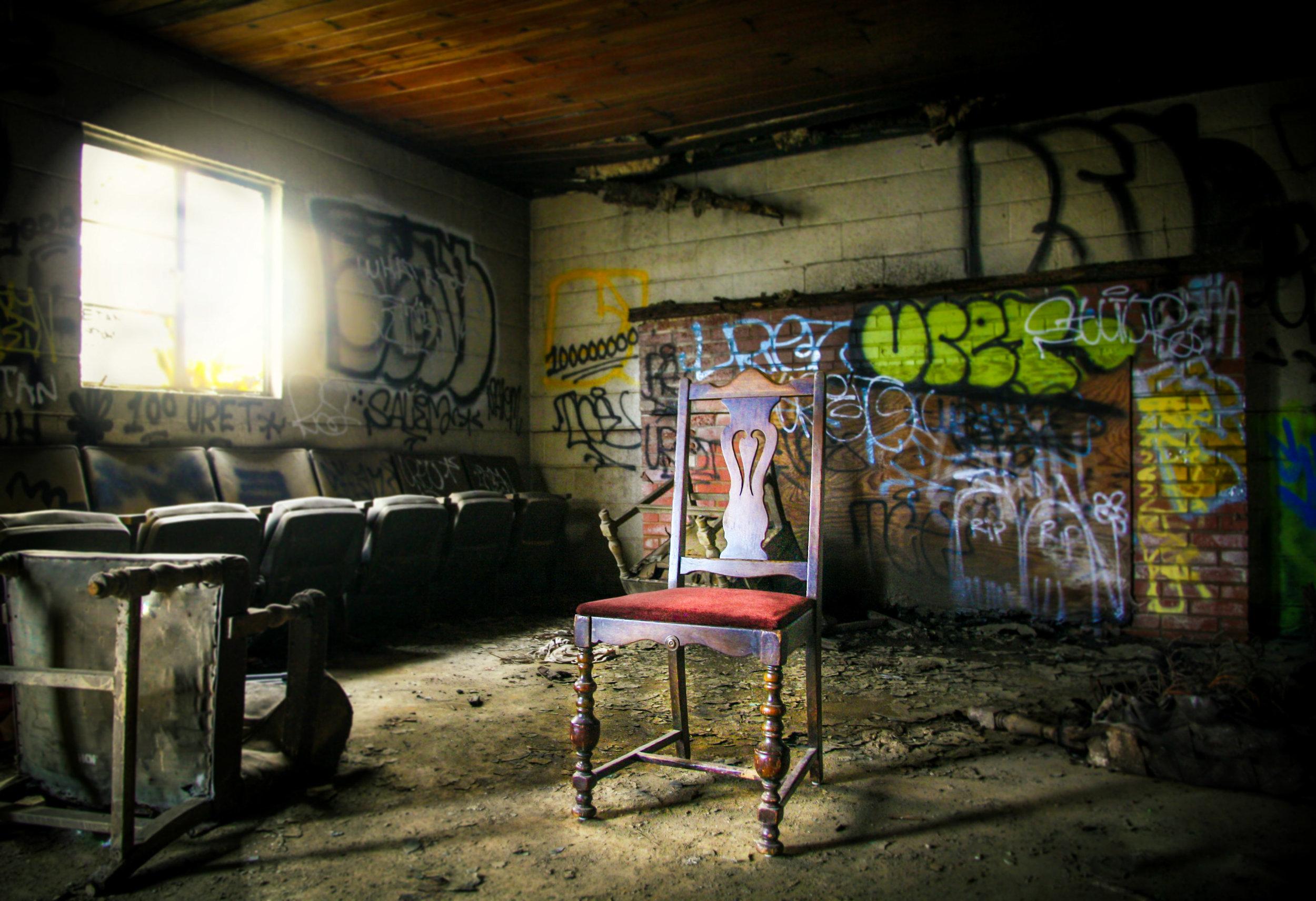 The Empty Seat Series: Graffiti
