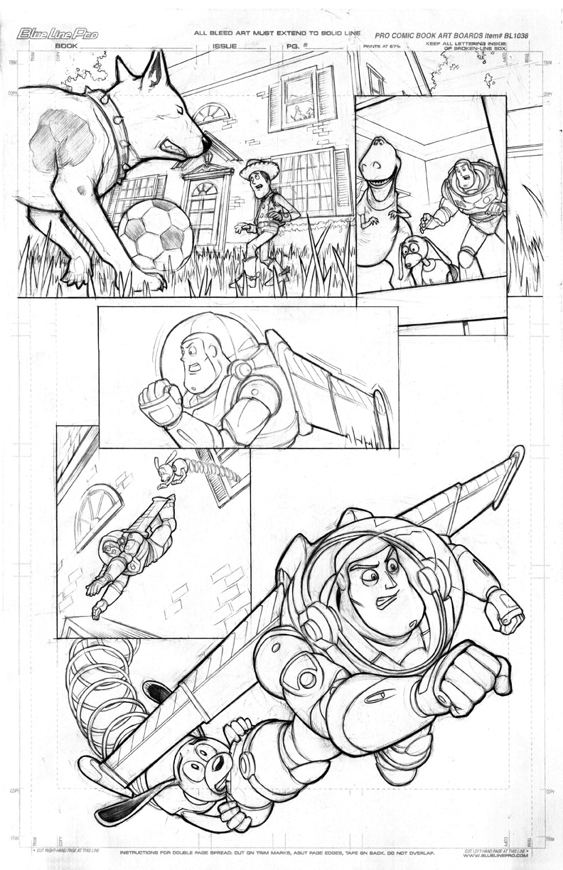 Toy Story sample page