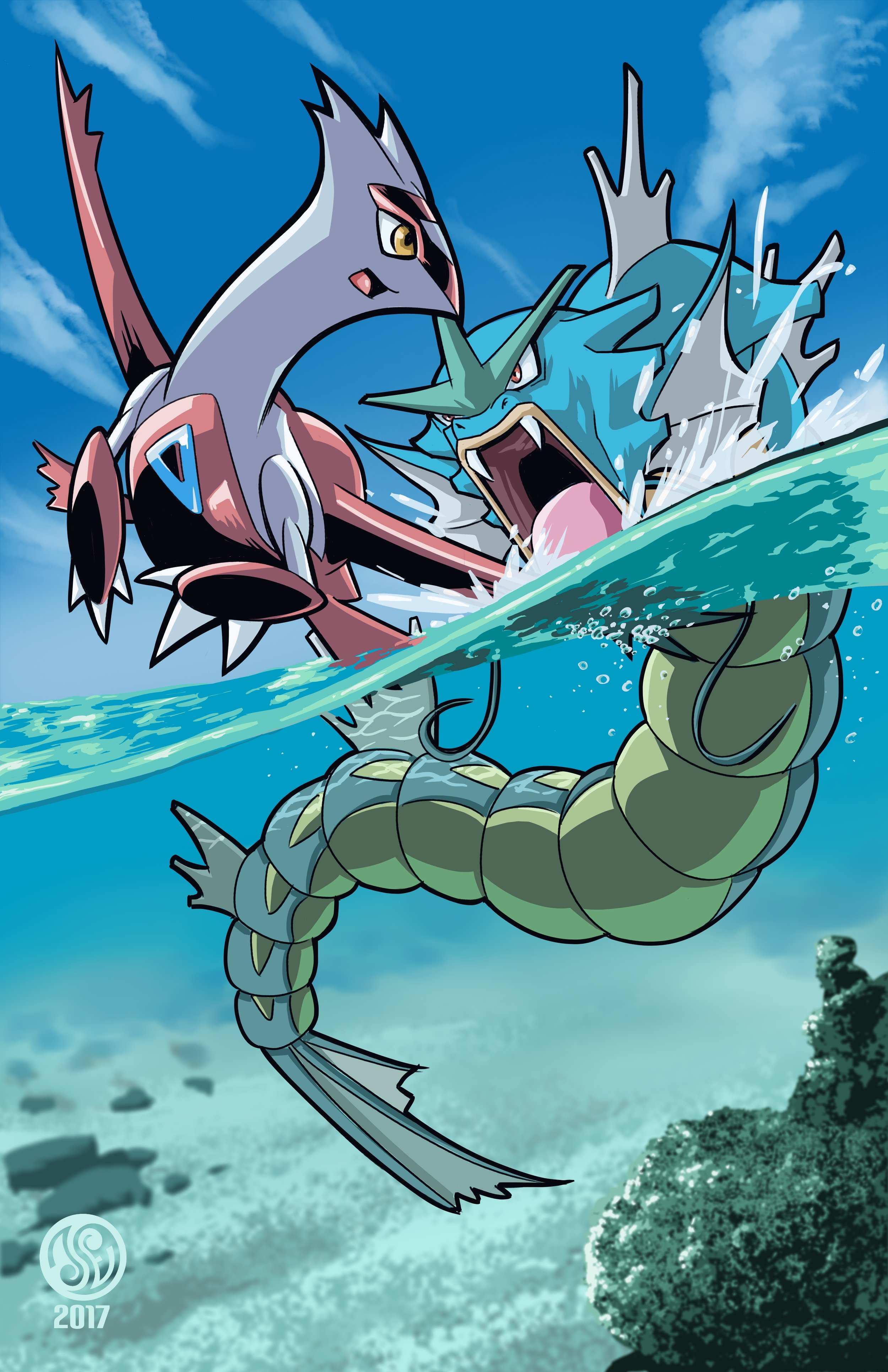 Copy of Pokemon: Latias vs Gyarados