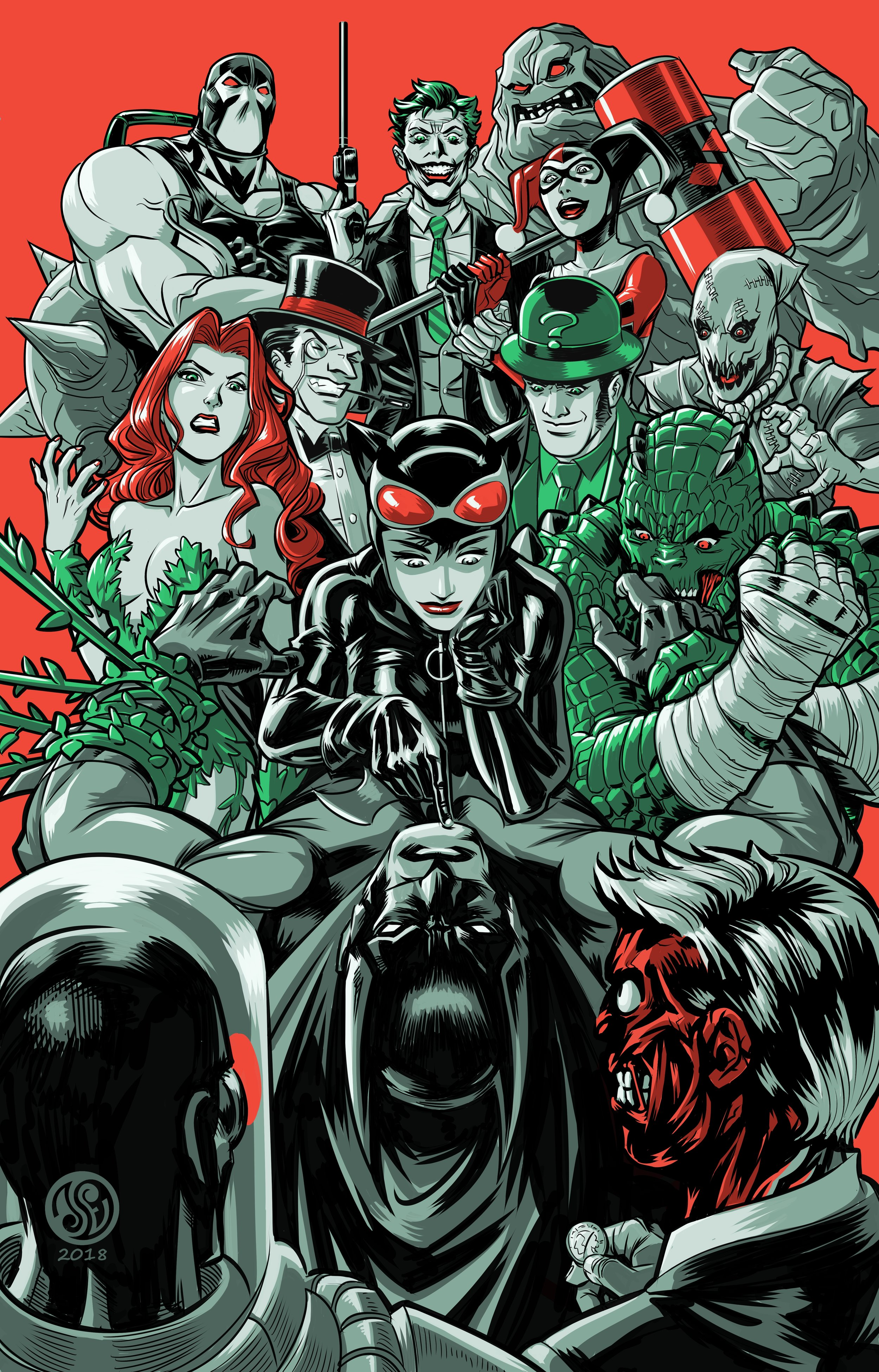 Batman Rogues' Gallery