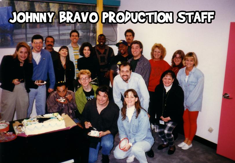JOHNNY BRAVO PRODUCTION STAFF