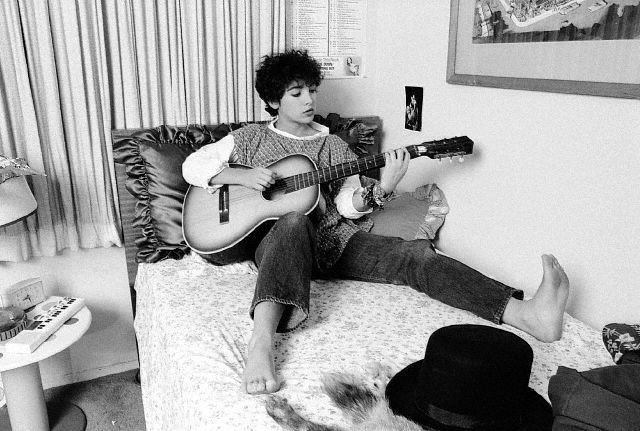 "Jane Wiedlin Photo from Dan Seeger's ""Coffee For Two"" Blog"
