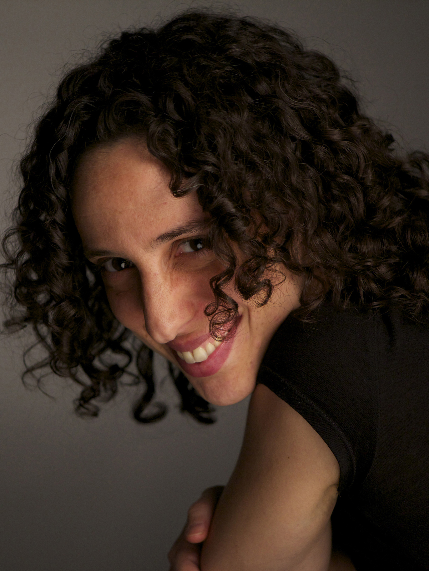 Director Ela Thier, Photograph by Milton Kam