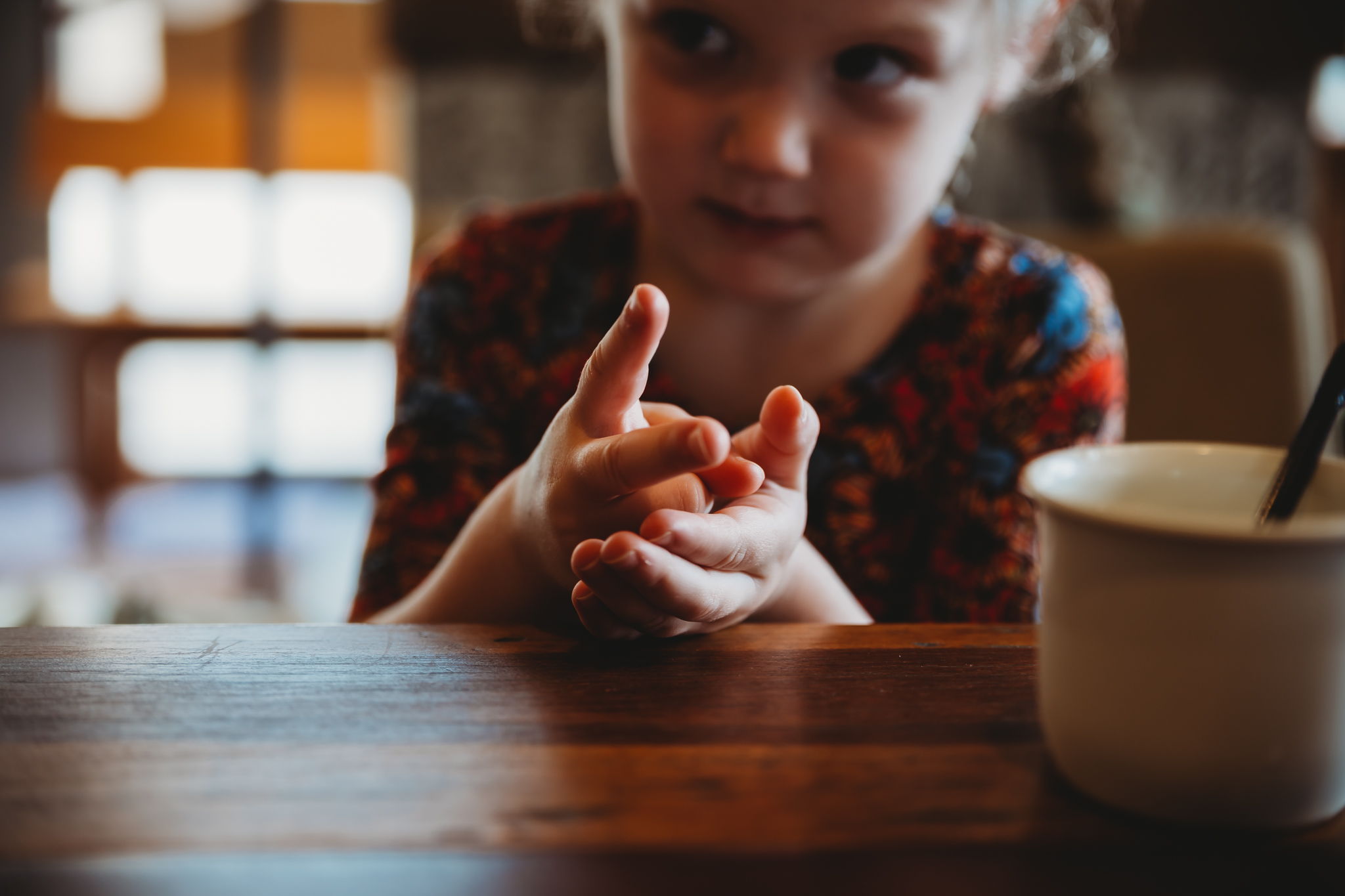 Rock Paper Scissors is one of our favorite things to do when waiting at a restaurant