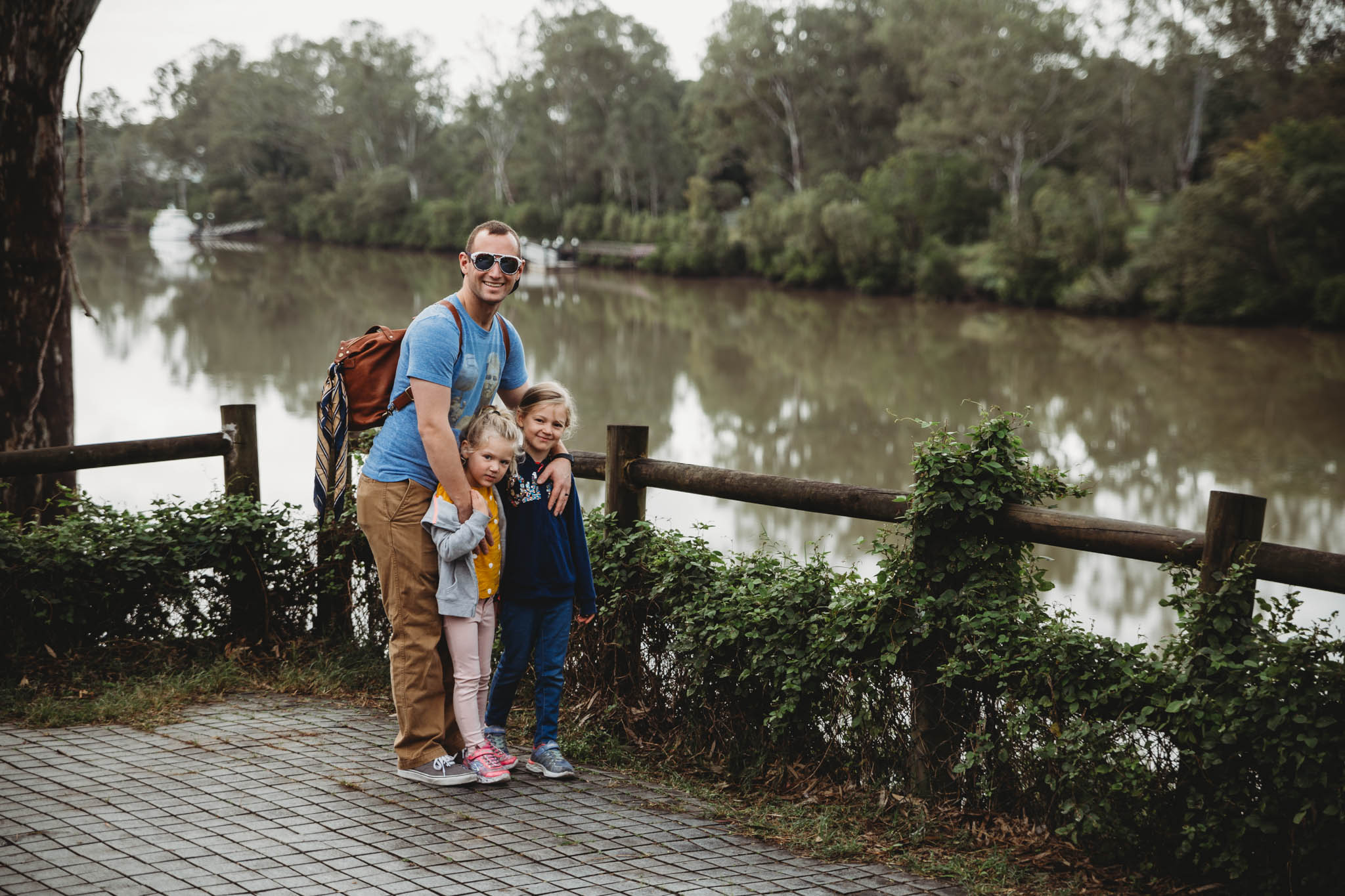 """After a solid nights rest with our whole family under one roof we knocked off the top item from our """"Australia Bucket List"""""""