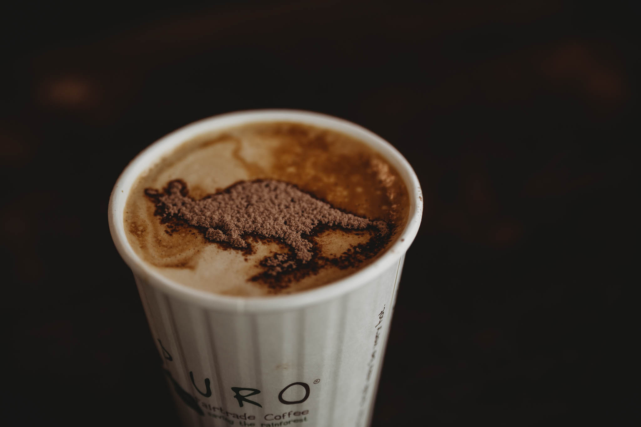 Coffee is always better when kangaroos and koalas are involved