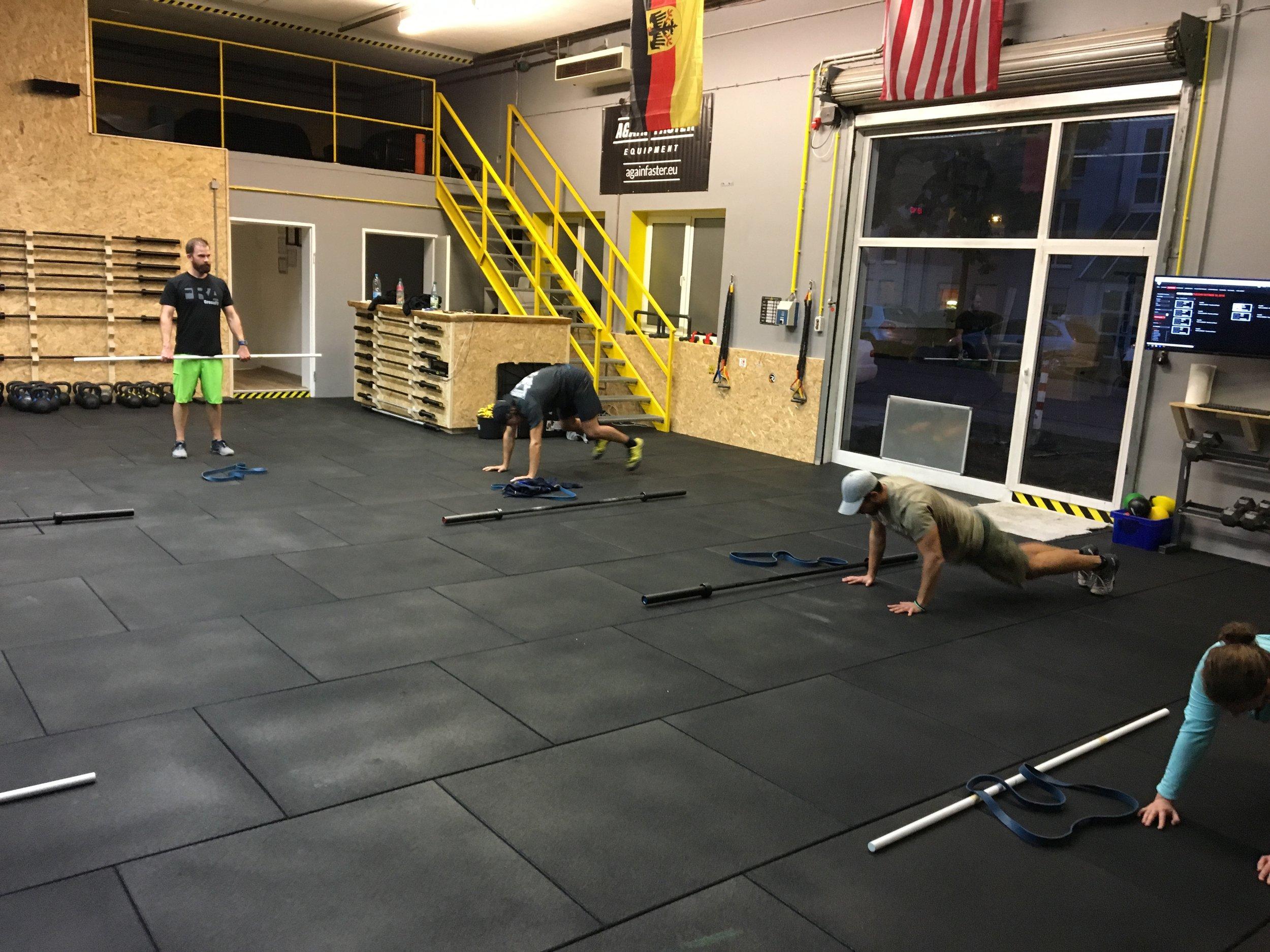 CrossFit Wiesbaden Workout