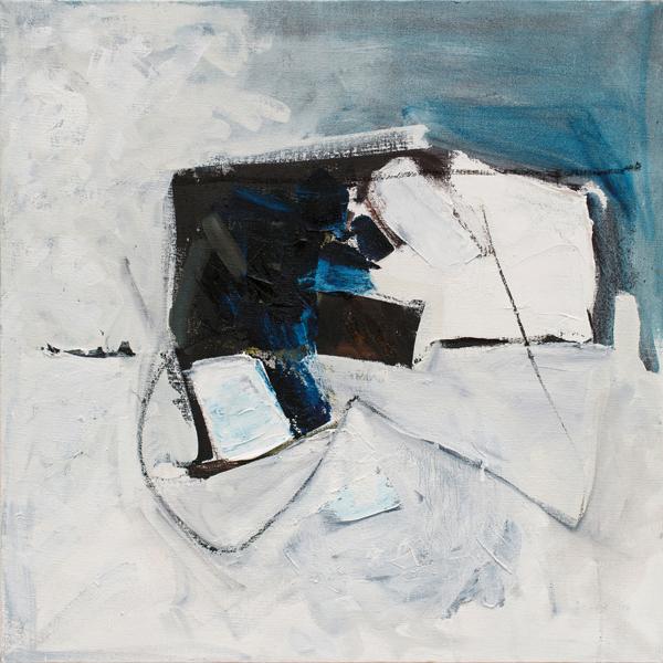 "Six  Oil on canvas, 2014, 24"" x 24"""