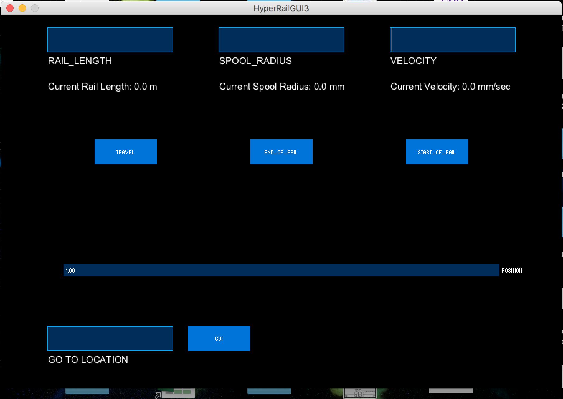 HyperRail application