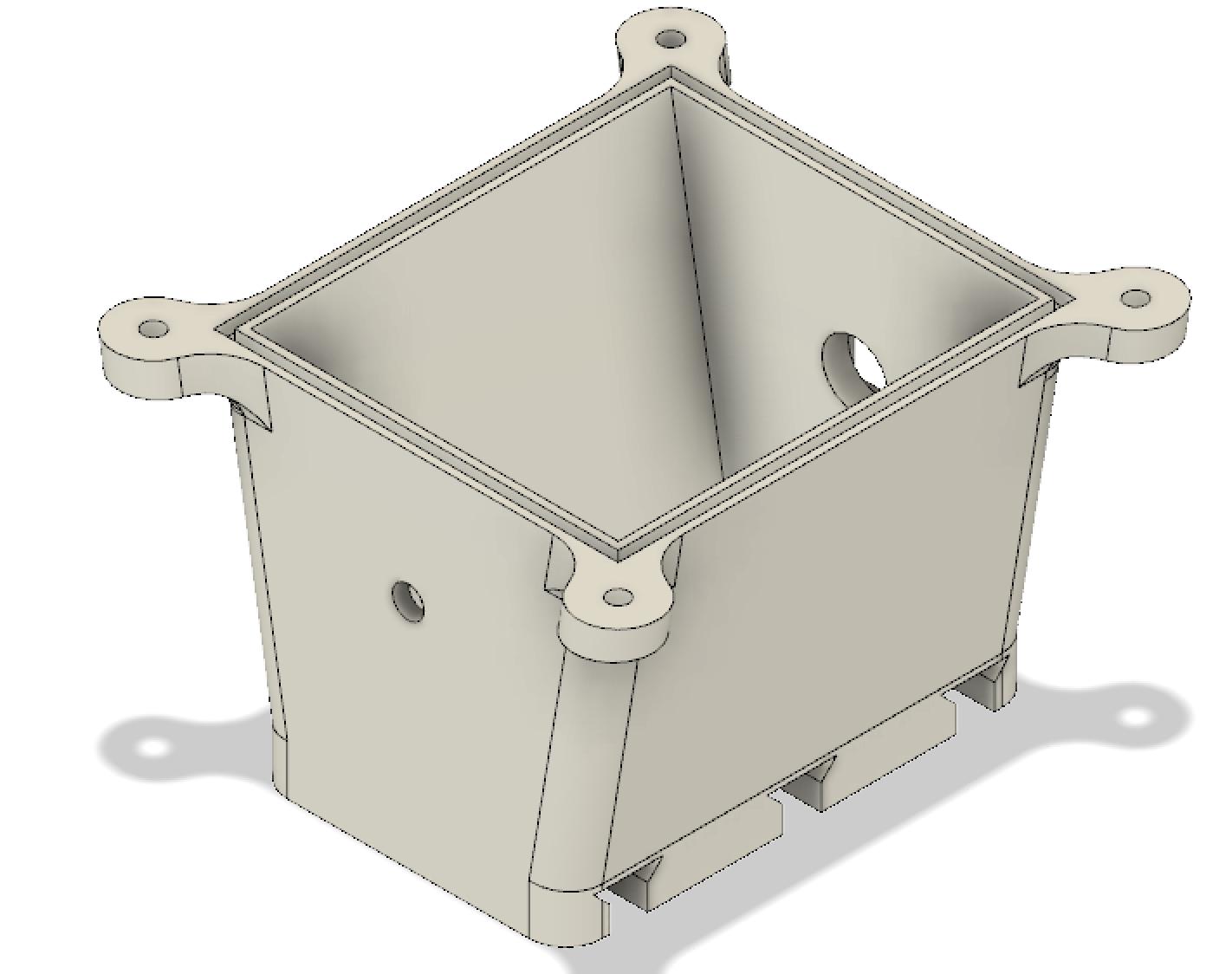 Electronics case CAD