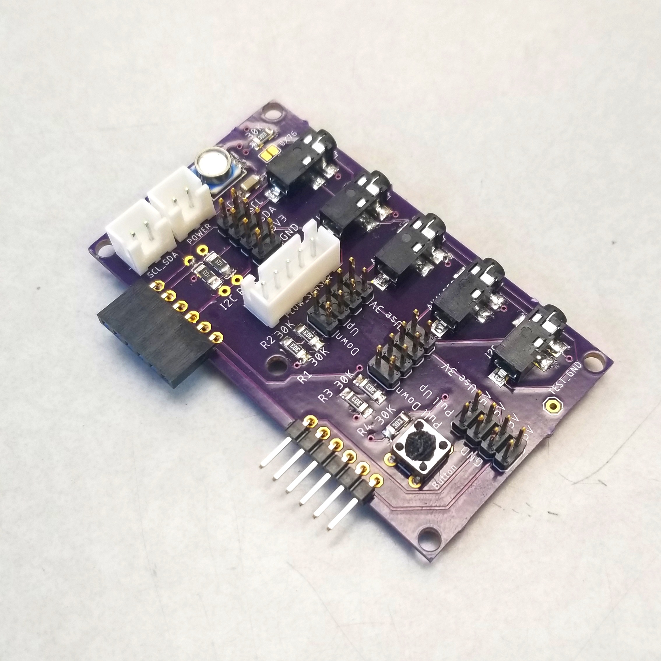 Sensor Module with barometric pressure sensor - Separation between high power devices like motors and sensors are required to ensure the long term stability of the system