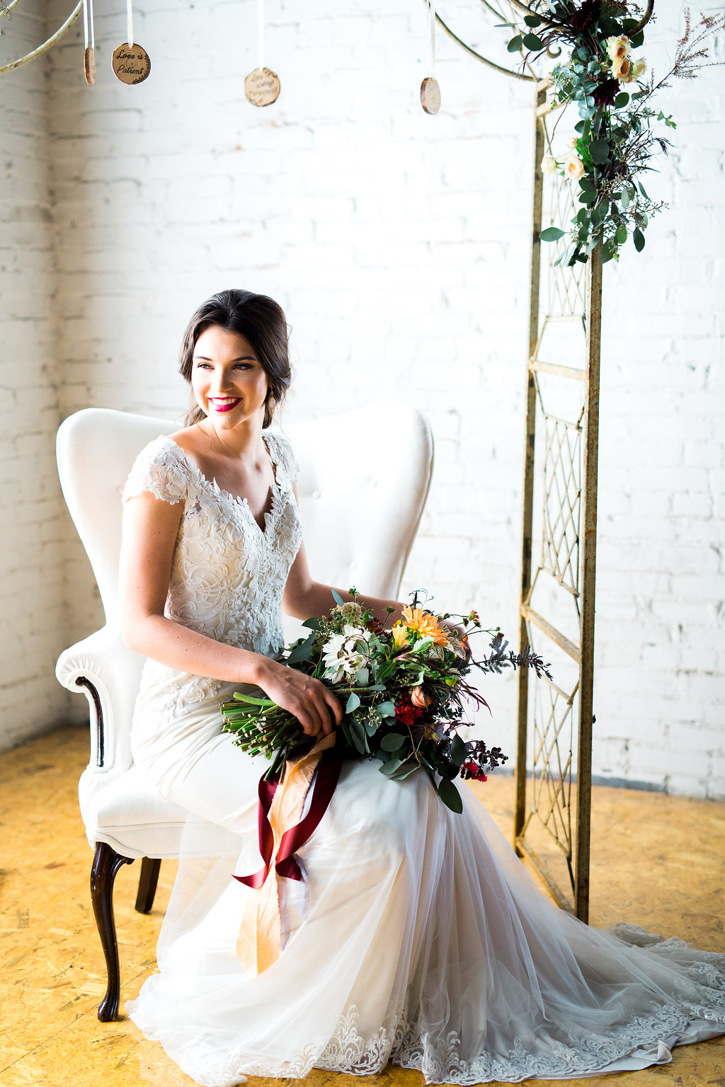 Gown: White Traditions Bridal House