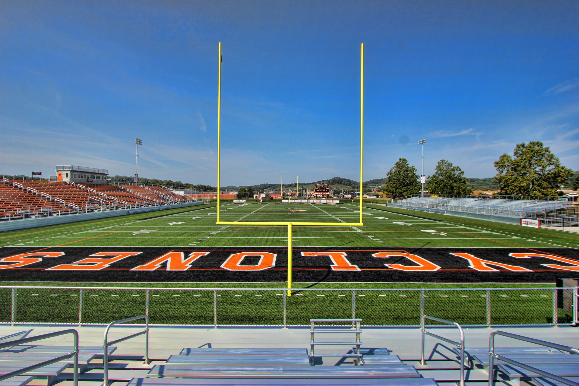 Band Stands & End Zone