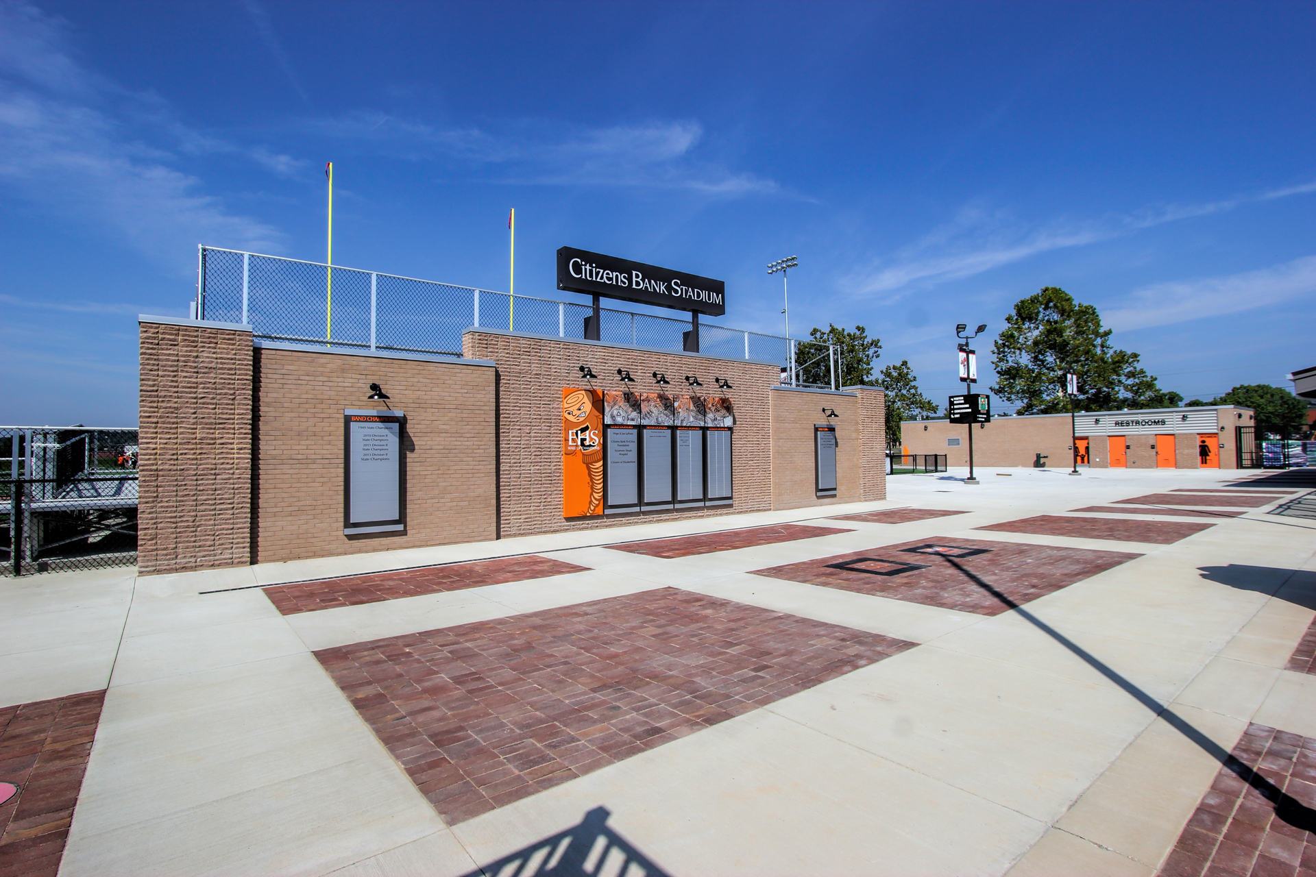 Wall of Champions & Walk of Fame Concourse