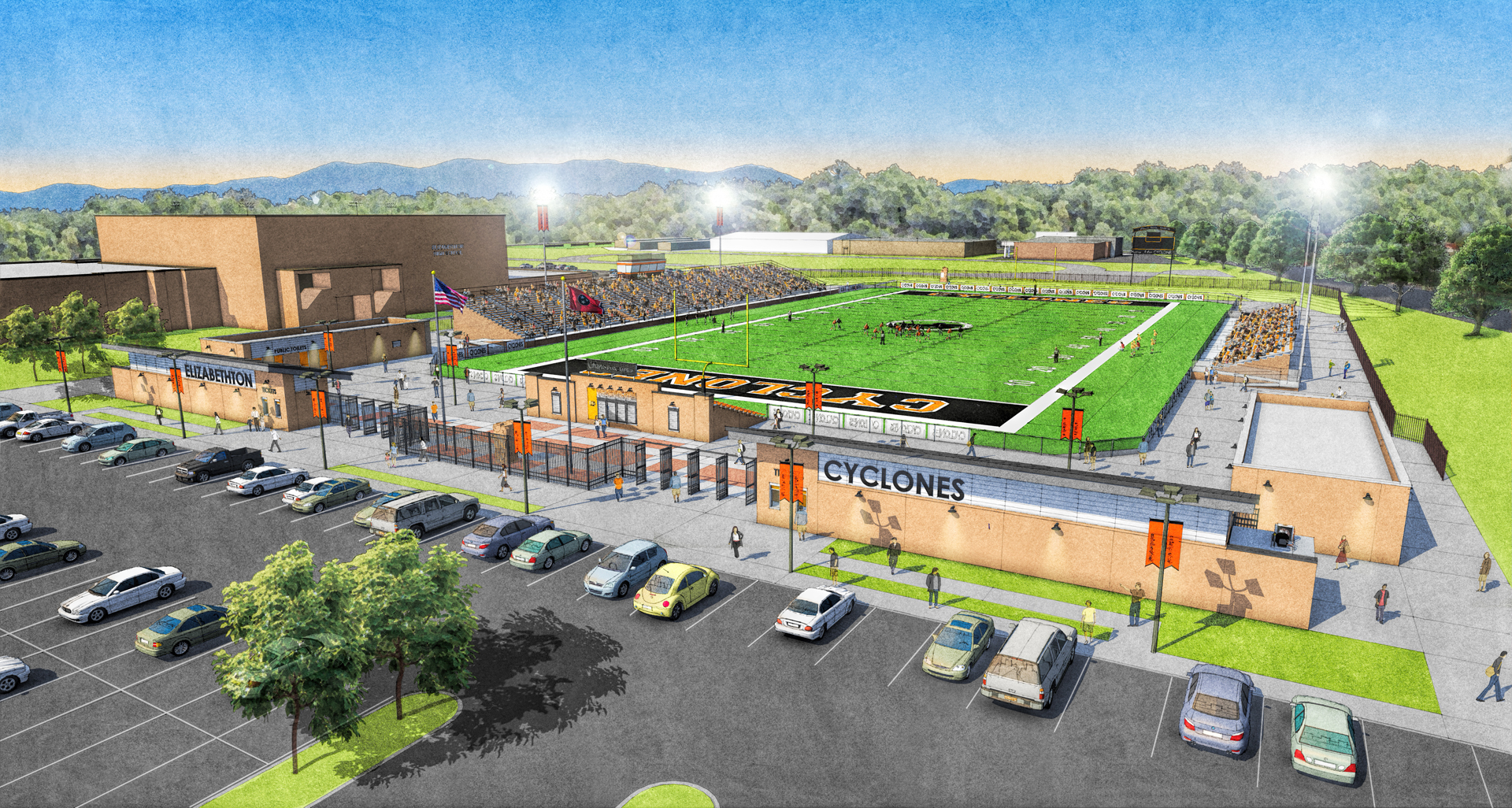 EHS ATHLETIC COMPLEX — THOMAS WEEMS ARCHITECT