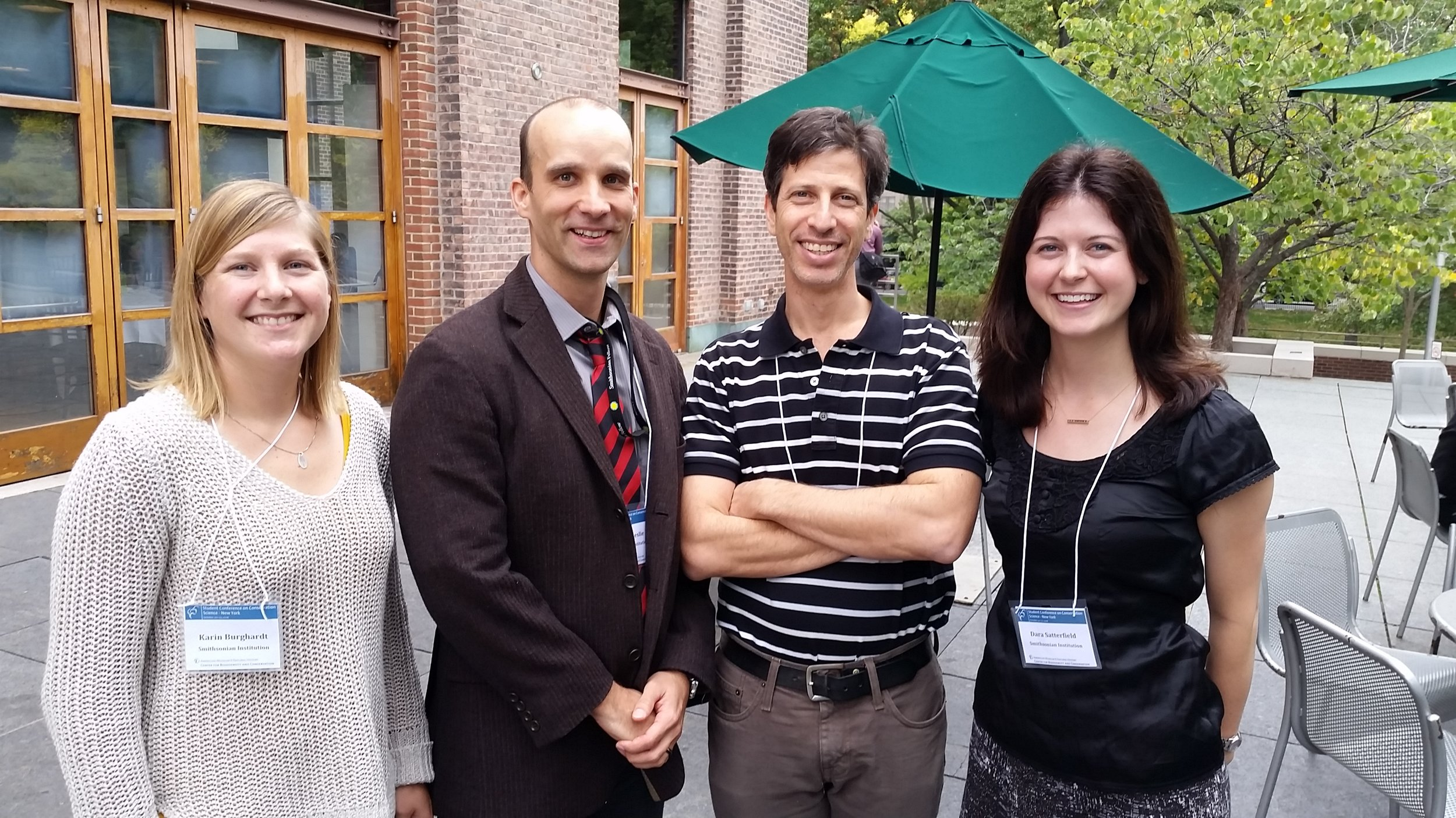 From left to right: Karin Burghardt, Matthew Leslie, Jeremy Feinburg, and Dara Satterfield.