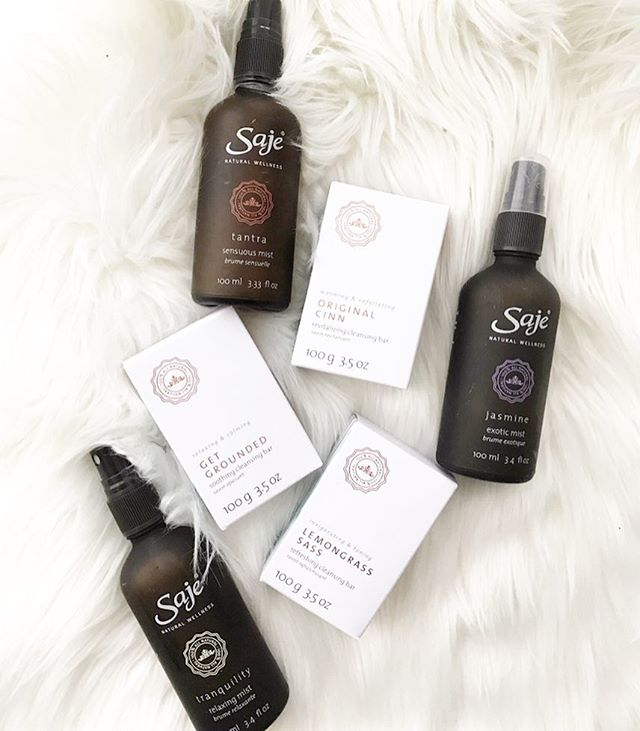 My must haves. Everyone that knows me, knows I'm obsessed with @sajewellness .  #vibehigh#aglowbyjoan#toronto#follow#studiomusthaves#follow#wellness#essentialoils#goodvibesonly