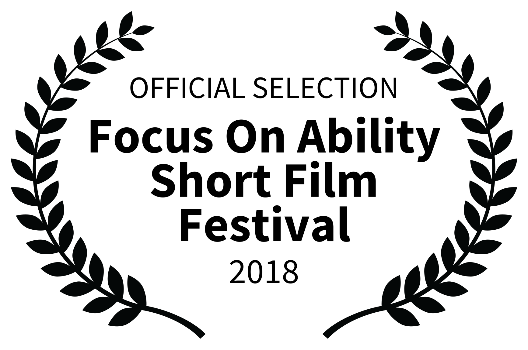 OFFICIAL SELECTION - Focus On Ability Short Film Festival - 2018.png