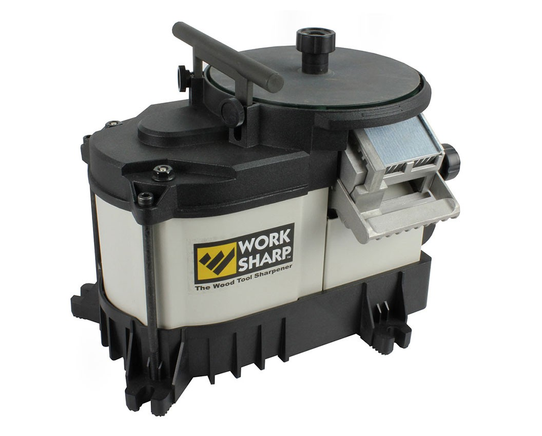 The Worksharp works and is more affordable than other machines.