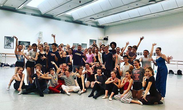 Sharing the jazz internationally!  So fortunate to be in Copenhagen 🇩🇰 at the Royal Danish Ballet School with these #jazzwarriors. #rdbsummerschool