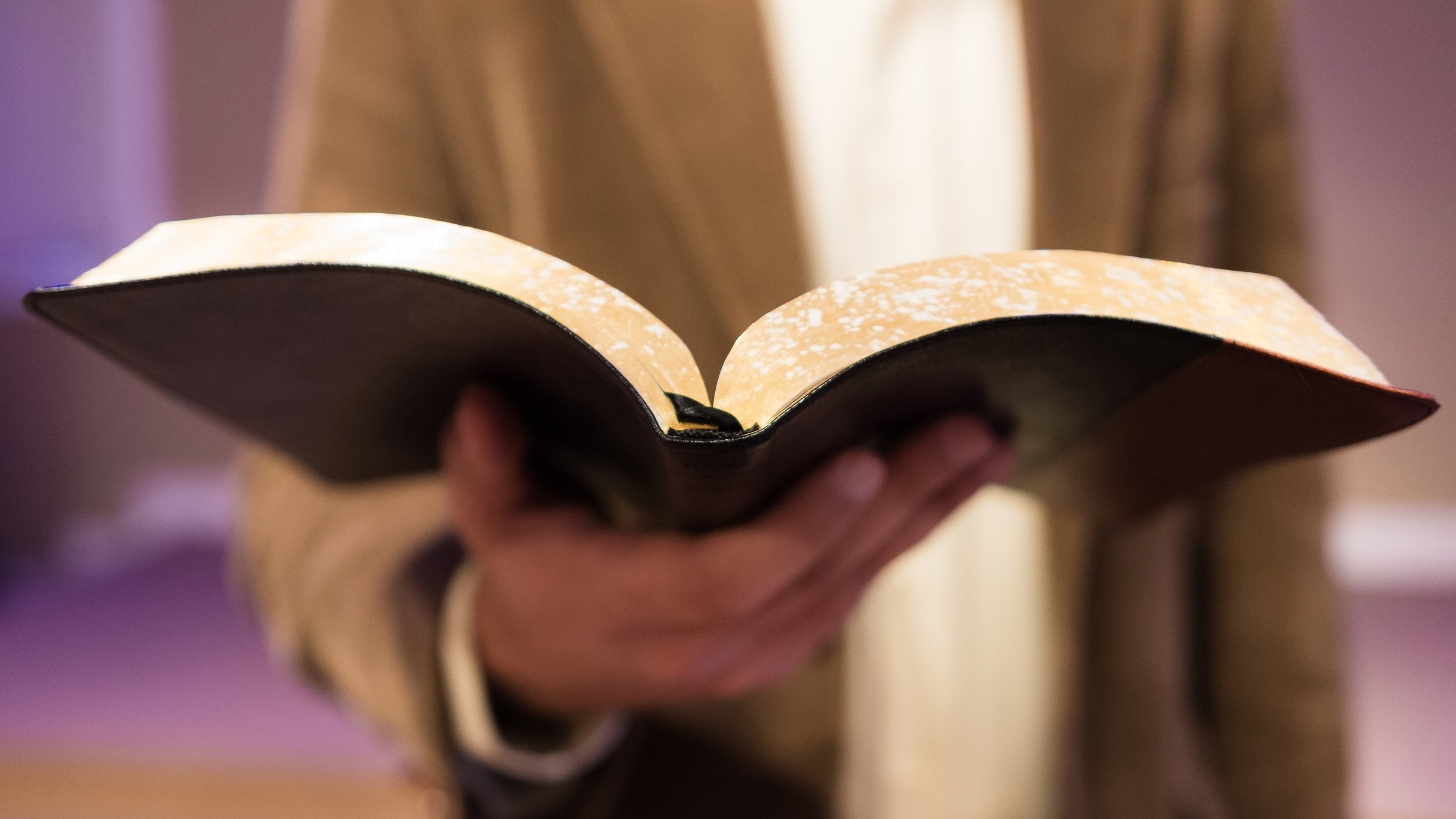 Expository preaching from God's Word -