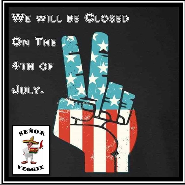 We'll be taking a short break for Independence Day, but we'll be back at it on Friday! See you in Southtown! ✌🏼❤🥦 #vegano #vegansofinstagram #vegan #vegansofig #whatveganseat #4thofjuly #plantpower #sananto