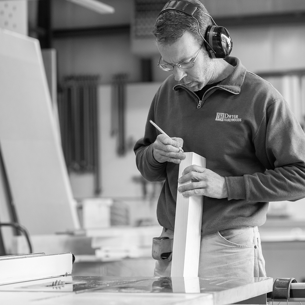 Bob Dwyer - Bob manages our millwork operations. He brings 25 years of industry-wide experience and an unrivaled dedication to each and every project, large or small.Get a hold of Bob here:Office: (401) 284-2305Email: bob@dwyerhardwoods.com