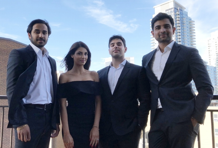 INTERVIEW with Founder and CEO, Karshil Desai, CMO, Ankit Patel, CCO, Sara Mir and PRO, Shawn Moghaddami.