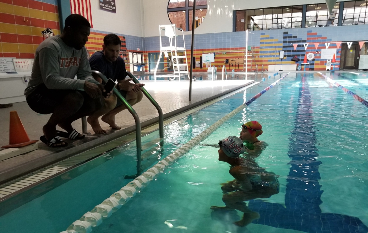 SwimBox Swim Lessons Performance Marc Luko