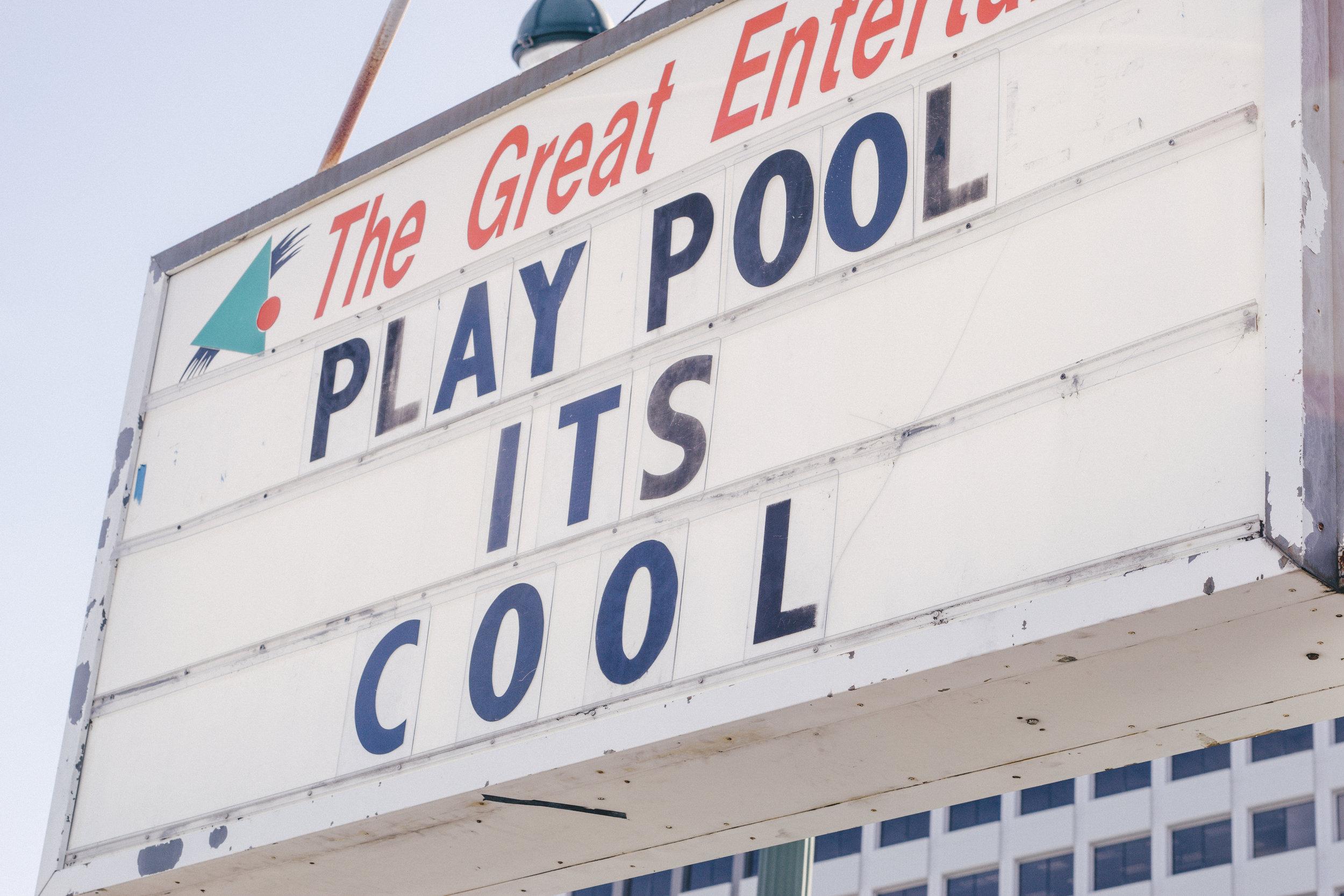 Play Pool It's Cool , 2016  © Faysal Matin