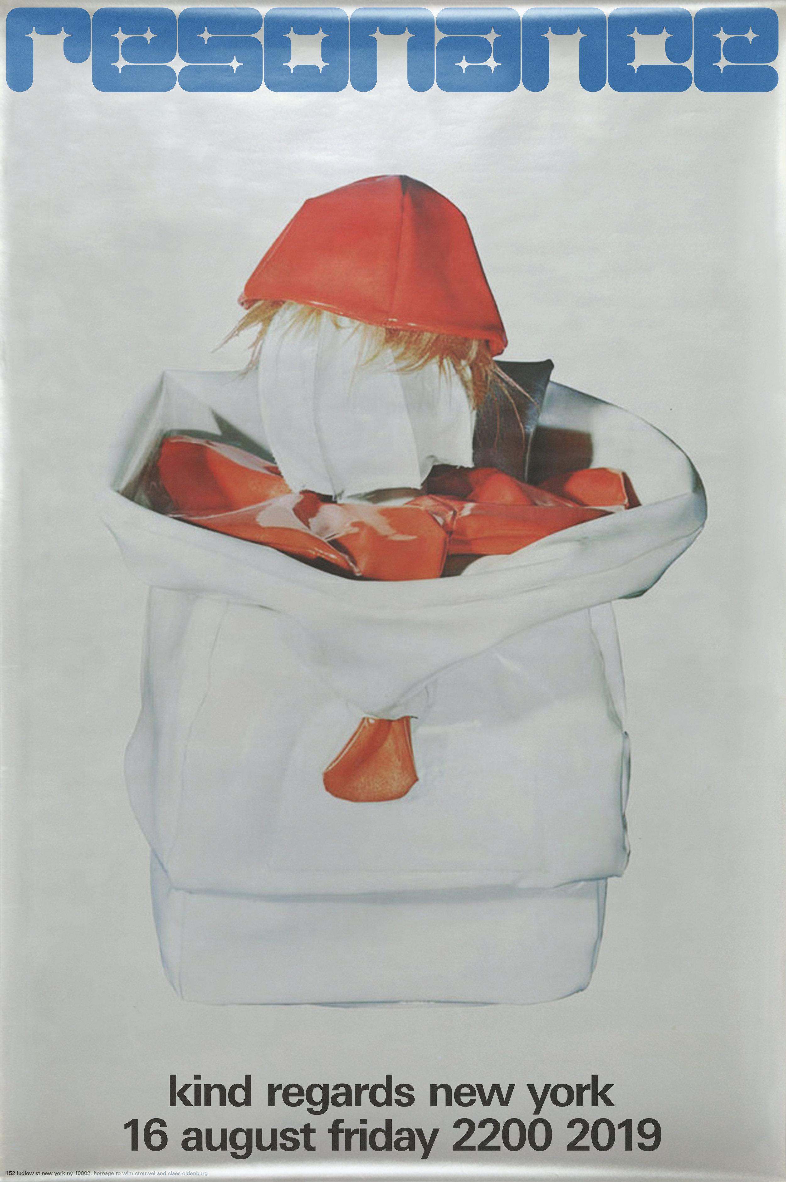 RESONANCE PARODY 1970 Stedelijk Museum, Amsterdam Claes Oldenburg. Designer Wim Crouwel.jpg