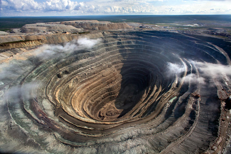 Yakutia Mitny diamond mine -Alrosa Mining company